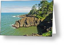 Otter Crest Loop Viewpoint Greeting Card