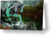 Otter Lake Phantom Greeting Card