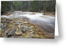 Otter Rocks - White Mountains New Hampshire Usa Greeting Card
