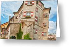 Ottoburg Inn - Old Town Innsbruck Greeting Card