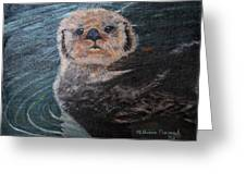 Ottertude Greeting Card