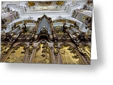 Ottobeuren Abbey Organ Greeting Card