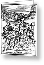 Ottoman Surgery, 1573 Greeting Card