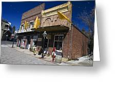 Otts Assay Office And The South Yuba Canal Building Nevada City California Greeting Card