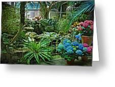 Ott's Greenhouse - Schwenksville - Pennsylvania - Usa Greeting Card