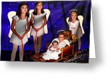 Our Christmas Angels Greeting Card
