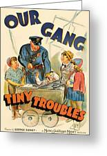 Our Gang Vintage Movie Poster 1930s Greeting Card