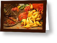 Our Harvest Today Greeting Card