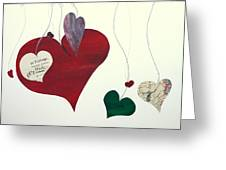 Our Hearts Beat For This World Greeting Card