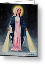 Our Lady Of Grace II Greeting Card
