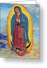 Our Lady Of Guadalupe-new Dawn Greeting Card by Mark Robbins