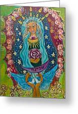 Our Lady Of Rebirth And Renewal Greeting Card