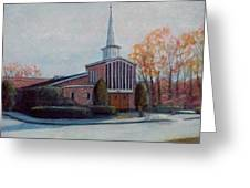 Our Lady Of The Lakeschurch Oakdale Ct Greeting Card