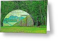Our Lady Of The Way Quonset Hut Chapel In Haines Junction-yt Greeting Card