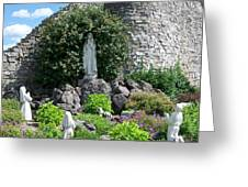 Our Lady Of The Woods Shrine Lll Greeting Card