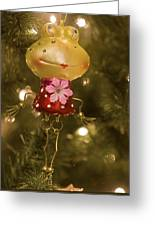 Our Miss Froggy Greeting Card