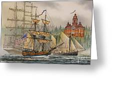 Our Seafaring Heritage Greeting Card