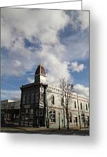 Our Town - Grants Pass In Old Town Greeting Card