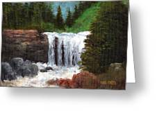 Ouray Falls Greeting Card