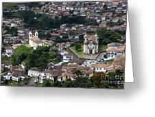 Ouro Preto Brazil 1 Greeting Card