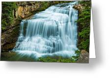Ousel Falls From Lookout Greeting Card