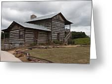 Cavender Creek Vineyards Cabin Greeting Card