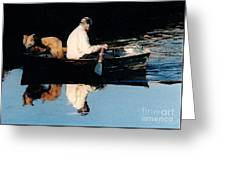 Out For A Boat Ride Greeting Card