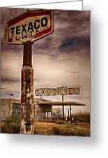 Out Of Gas Greeting Card