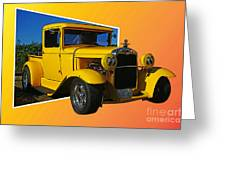 Out Of Picture Ford Greeting Card
