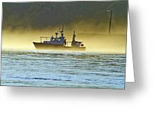 Out Of The Fog Greeting Card