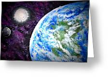 Out Of This World Greeting Card by Daniel Nadeau