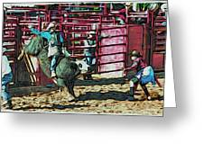 Out The Chute Greeting Card