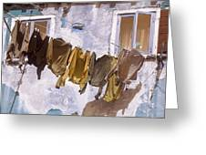 Out To Dry Greeting Card