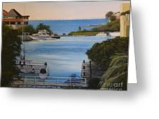 Out To The Bay Greeting Card