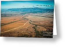 Outback Flinders Ranges Greeting Card