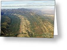 Outback Mountains Greeting Card