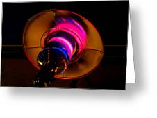 Outdoor Heater Pink Greeting Card