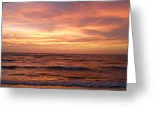 Outer Banks Sunset - Buxton - Hatteras Island Greeting Card