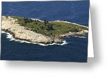 Outer White Island, Boothbay Harbor Greeting Card