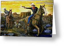 Outlaw Trail Greeting Card
