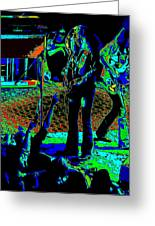 Outlaws #16 Art Psychedelic Greeting Card