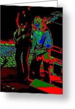 Outlaws #18 Art Psychedelic Greeting Card
