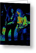 Outlaws #25 Crop 2 Art Psychedelic Greeting Card