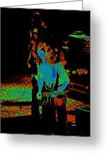 Outlaws #27 Art Psychedelic Greeting Card