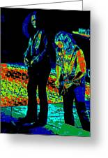 Outlaws #31 Crop 2 Art Psychedelic Greeting Card