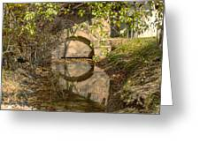 Outlet At The Mill Greeting Card