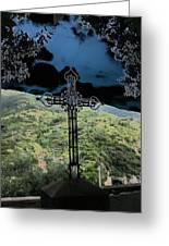 Outlook Cross Monterosso Greeting Card