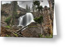 Ouzel Falls Upper View Greeting Card