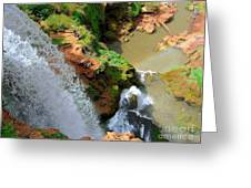 Ouzoud Falls Morocco Greeting Card