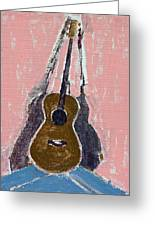 Ovation Legend Ltd Guitar Greeting Card